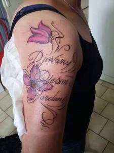 tatoo Djovany djeson