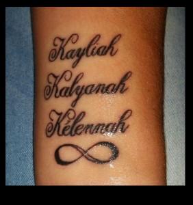tatoo kayliah k k