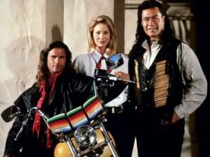 ERRATUM Cheyenne n'était pas un personnage de Walker Texas ranger, mais la demie-sœur de Bobby Sixkiller dans la série Le Rebelle.