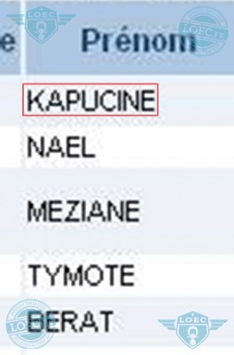 kapucine