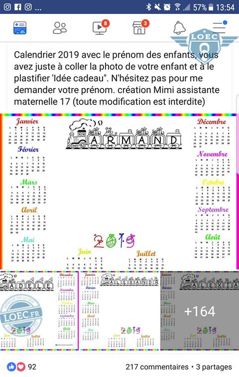Calendrier Prenoms.Mamoune Veut Un Calendrier A L Image De Son Enfant
